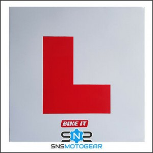 Motorcycle/Motorbike/Scooter/Moped Self Adhesive Sticky Learner L Plate