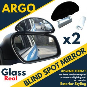 2 X Adjustable Car Van Blind Spot Blindspot Towing Reversing Driving Mirror